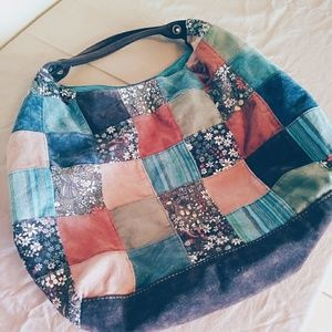Absolutely Beautiful Patchwork Hobo Bag